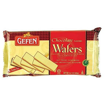 Gefen Sugar Wafers Chocolate - 14.1oz