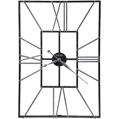 Howard Miller Oversized Wall Clock 625-593 - Modern & Rectangular with Quartz Movement
