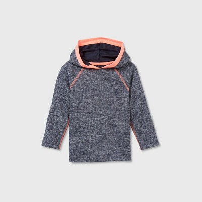 Toddler Boys' Active Hooded Long Sleeve Athletic Jersey - Cat & Jack™ Navy