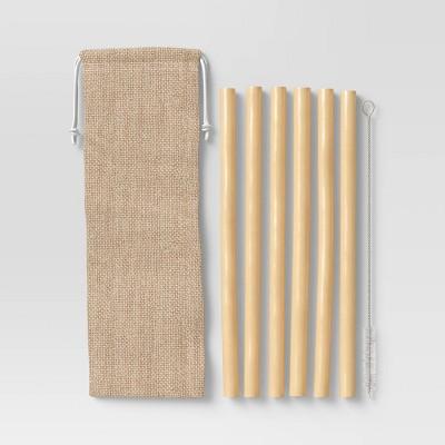 8pc Bamboo Straw Set - Opalhouse™