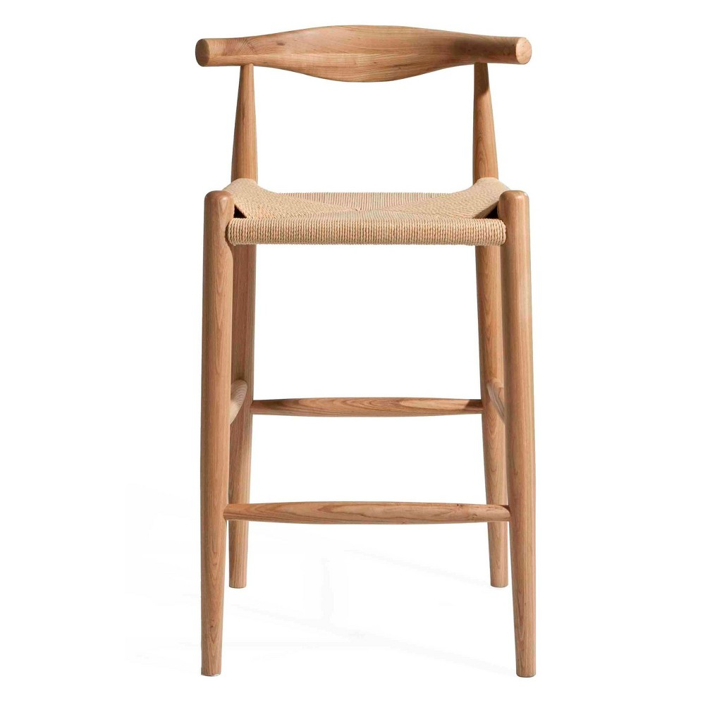 Troy Counter Height Stool Natural Ash - Aeon