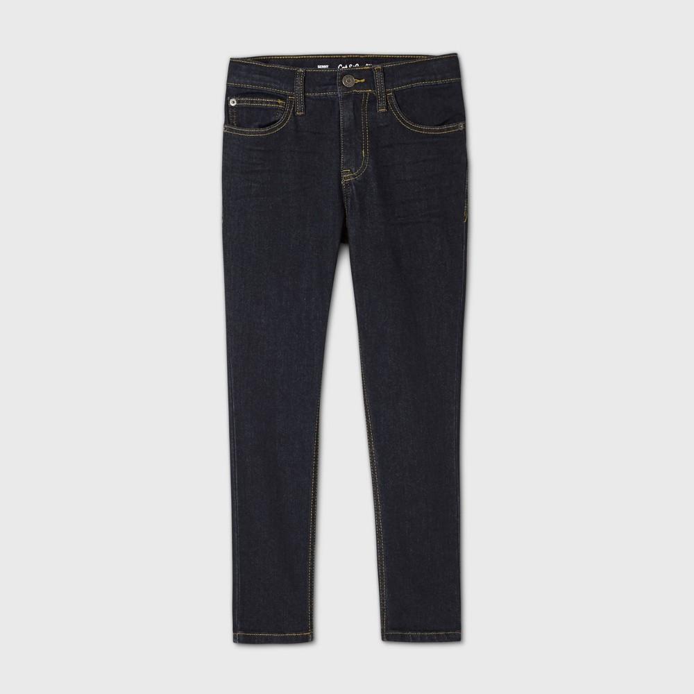 Boys 39 Stretch Skinny Fit Jeans Cat 38 Jack 8482 Dark Blue 12 Husky