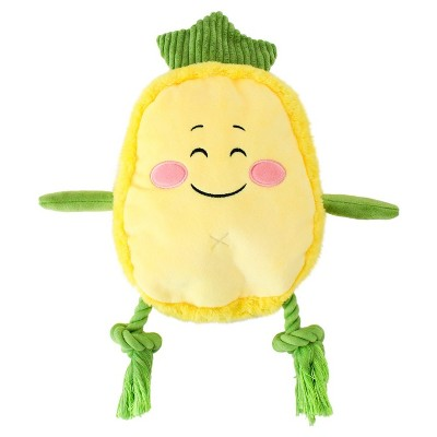 Pineapple Slider Pet Toy - M - Yellow - Boots & Barkley™