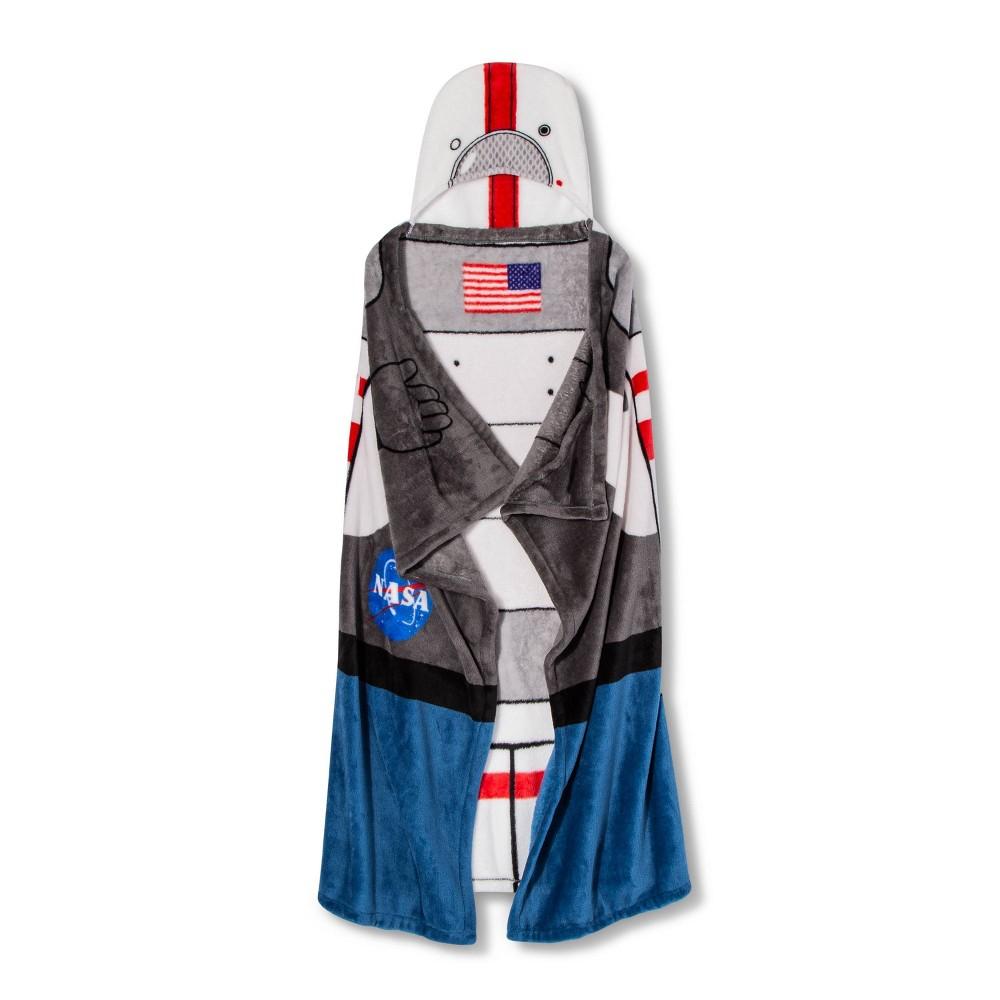Image of NASA Hooded Throw Spacesuit