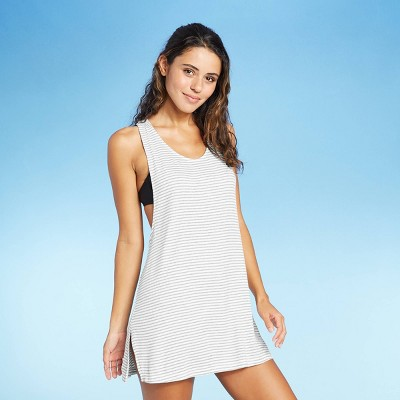 Juniors' Ribbed Racerback Cover Up Dress - Xhilaration™
