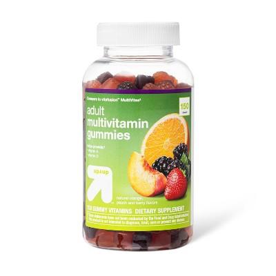 Multivitamin Gummies - Berry, Peach & Orange - 150ct - up & up™