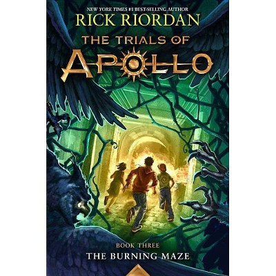 Burning Maze -  (Trials of Apollo) by Rick Riordan (Hardcover)