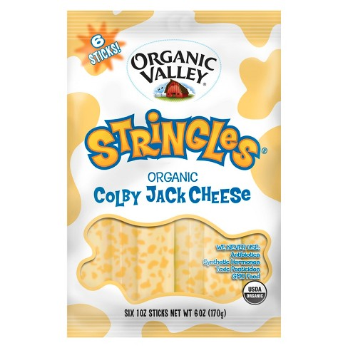 Organic Valley Stringles Colby Jack Cheese - 6oz - image 1 of 1