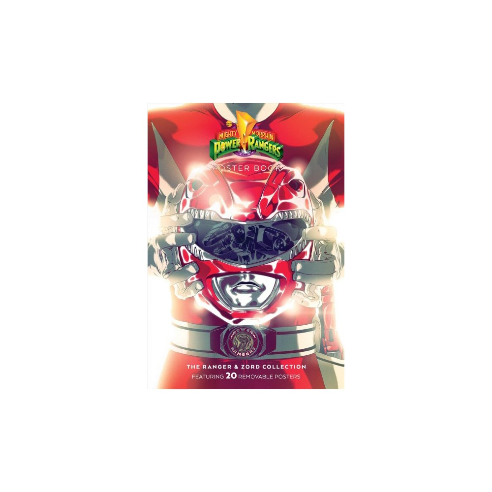 Mighty Morphin Power Rangers Poster Book : The Rangers & Zords Collection - Pstr