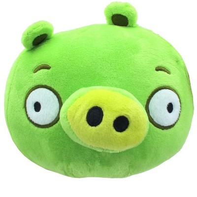 Johnny's Toys Angry Birds 7 Inch Plush Character Head   Minion Pig