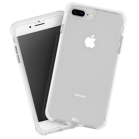 save off 24a2e 8c2ac Case-Mate iPhone 8 Plus/7 Plus/6 Plus Screen Protector and Tough Clear Case