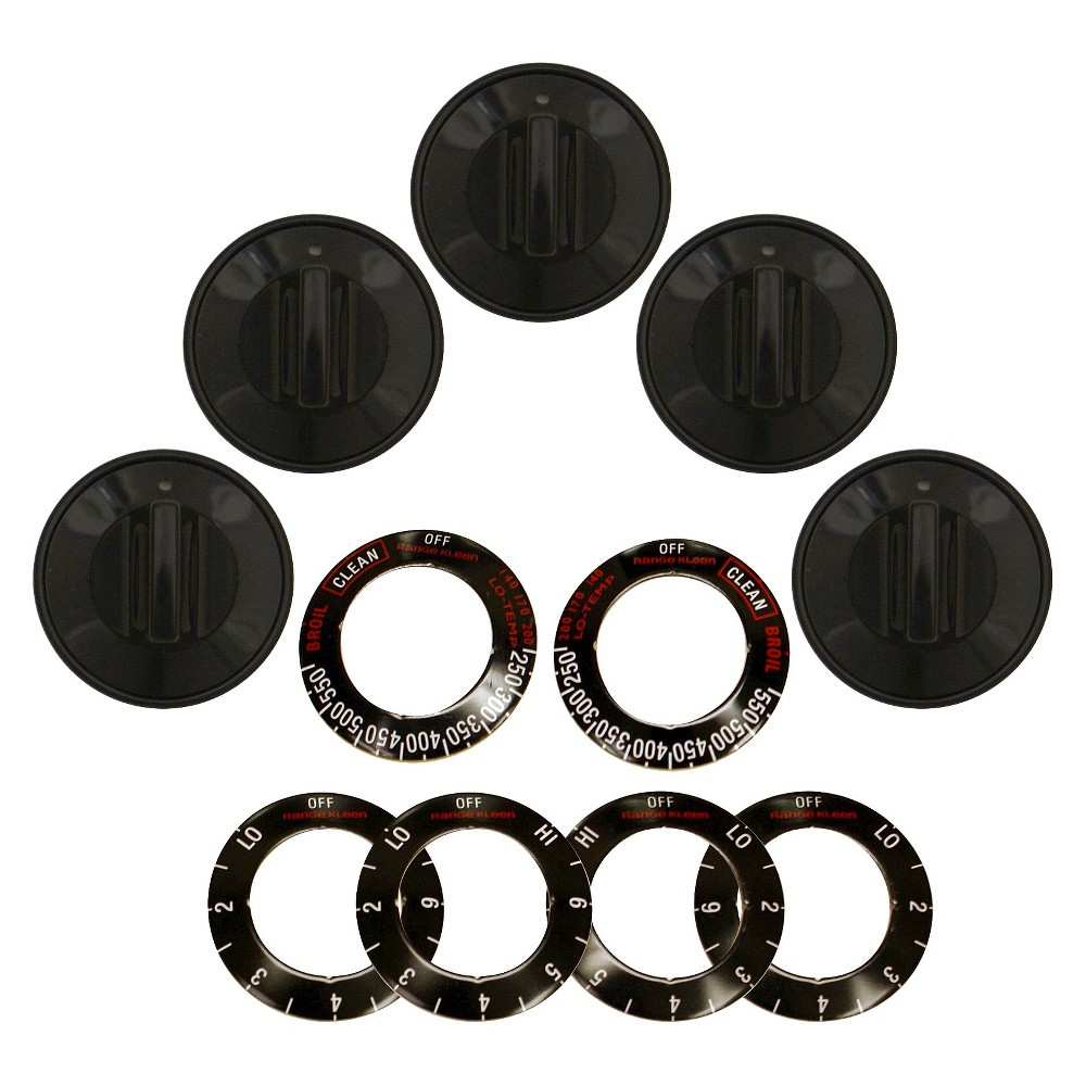 Kleen Range Replacement Knobs, Black 15440576