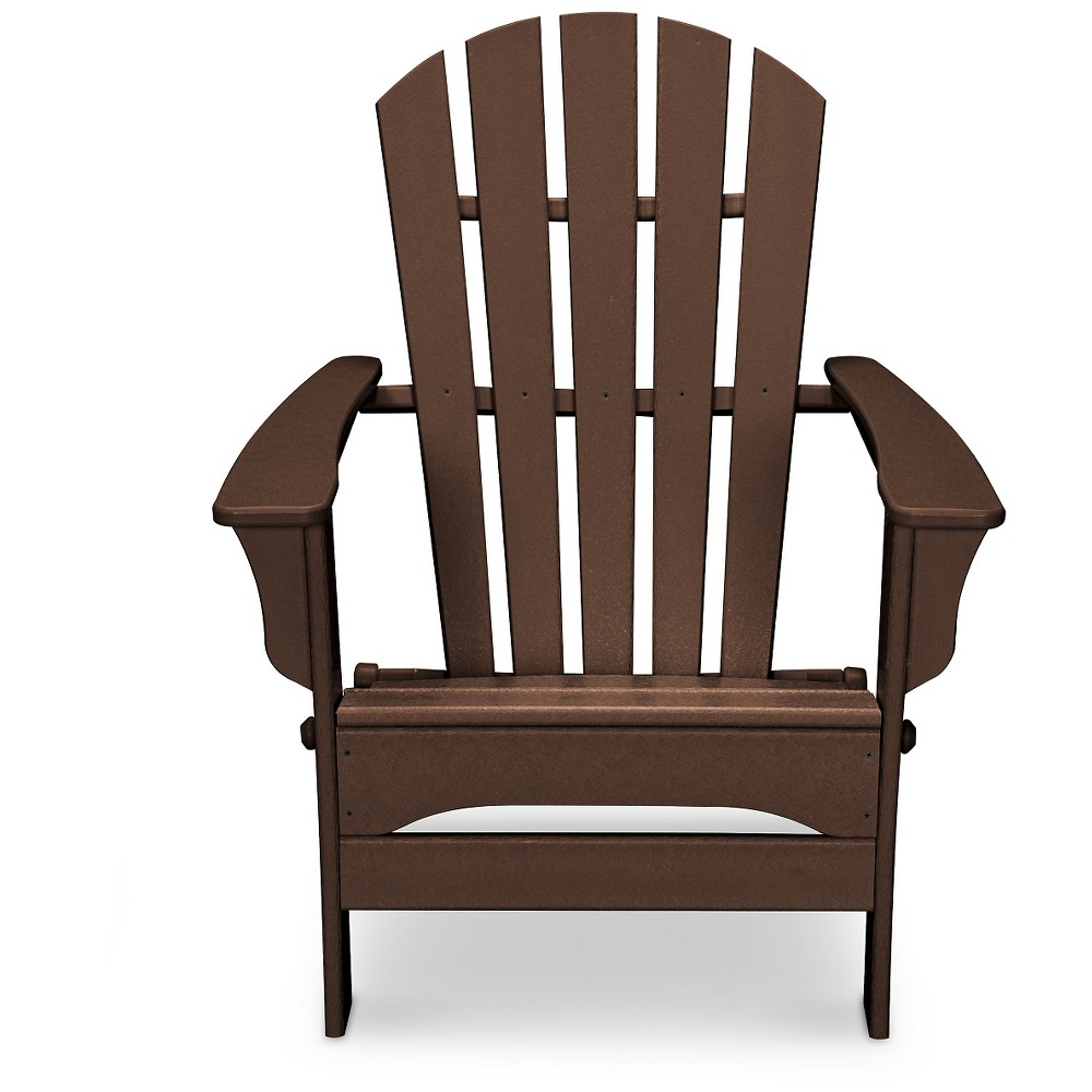 Polywood St Croix Mahogany (Brown) Patio Adirondack Chair - Exclusively At Target