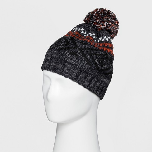 Men s Fairisle Beanie With Fleece Lined Beanies - Goodfellow   Co ... 2e96ccfb12f