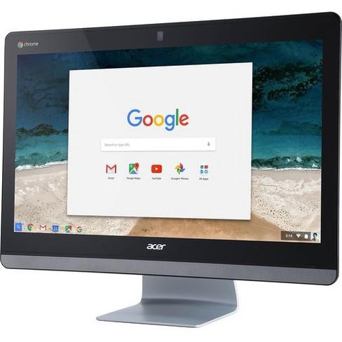 "Acer Chromebase 24 CA24V All-in-One Computer - Celeron 3215U - 4 GB RAM - 16 GB SSD - 23.8"" 1920 x 1080 Touchscreen Display - Desktop - Chrome OS - image 1 of 2"