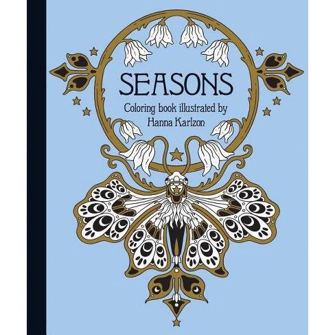 Seasons Coloring Book - (Hardcover) - image 1 of 1