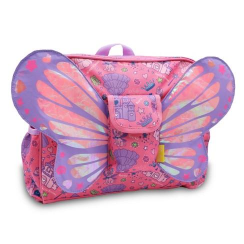 "Bixbee 10"" Kids' Backpack Fairy Princess Flyer - image 1 of 4"