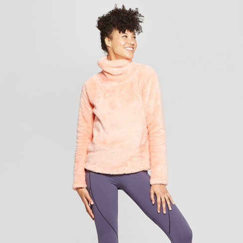 Women's Sherpa Cowl Neck Pullover - JoyLab™ - image 1 of 2