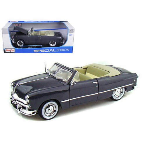 1949 Ford Convertible Gray 1/18 Diecast Model Car by Maisto - image 1 of 1