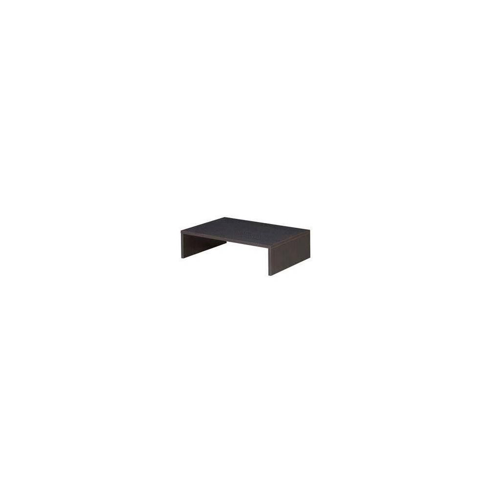Image of Designs2Go Small TV/Monitor Riser Espresso - Johar Furniture