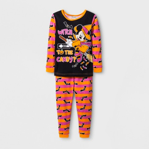 e9de062d349a Baby Girls  Minnie Mouse 2pc Pajama Set - Orange   Target