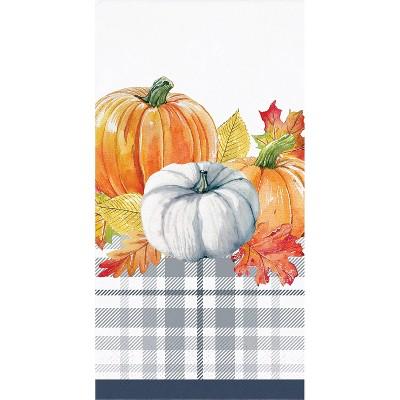 48ct Thanksgiving Elegance Dinner Napkins