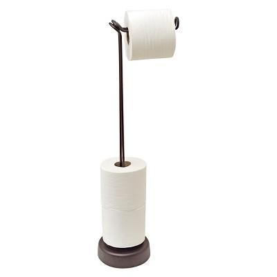 Freestanding Toilet Tissue Roll Holder 4 Roll Bronze - Totally Bath®