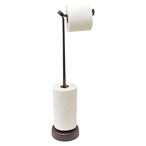 Freestanding Toilet Tissue Roll Holder 4 Totally Bath