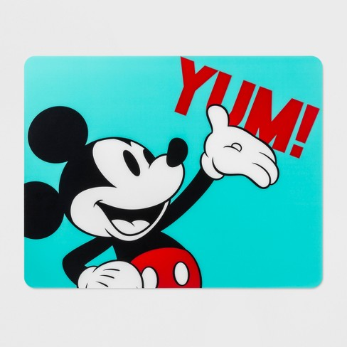 Disney Mickey Mouse Placemat Aqua/Red - image 1 of 1