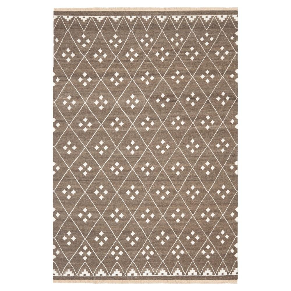 Thalasso Natural Kilim Dhurry - Brown/Ivory - (6'x9') - Safavieh