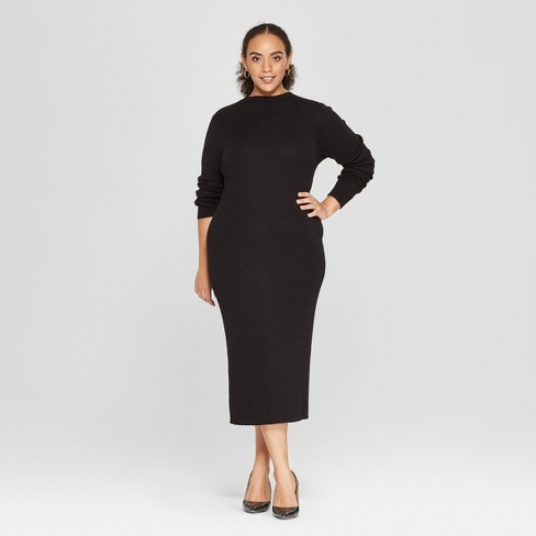 Women\'s Plus Size Sweater Dress - Who What Wear™ : Target