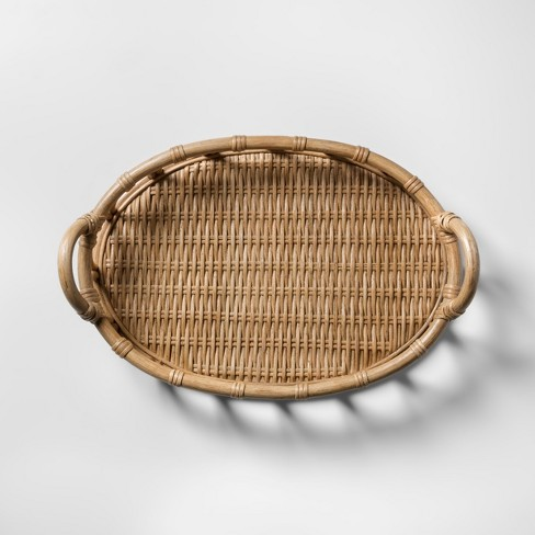 Rattan Tray - Natural - Opalhouse™ - image 1 of 8