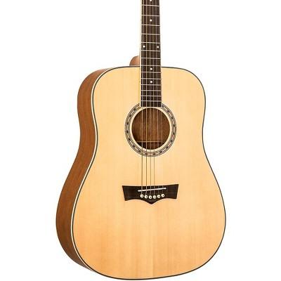 Peavey DW-1 Dreadnought Acoustic Guitar Natural
