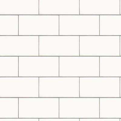 Subway Tile Peel & Stick Wallpaper White - Threshold™