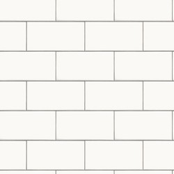 Devine Color Textured Subway Tile Peel & Stick Wallpaper Black/White - Threshold™