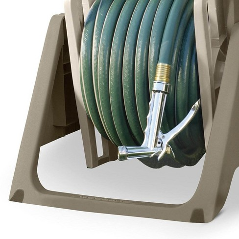 Suncast Hose Handler 100 Foot Portable Tote Or Wall Mountable