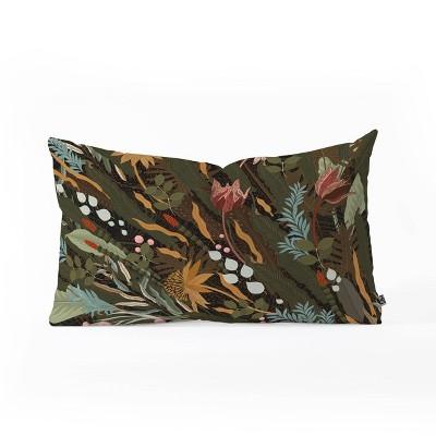 "23""x14"" Iveta Abolina Biophilia Desiree Lumbar Throw Pillow - Deny Designs"