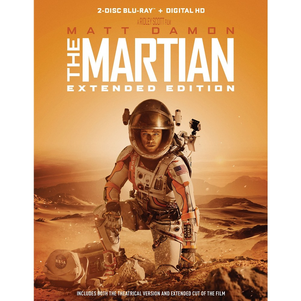 Martian, THE - Extended Edition (Blu-ray + Digital)