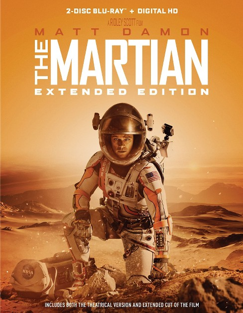 MARTIAN, THE - EXTENDED EDITION (Blu-ray + Digital) - image 1 of 1