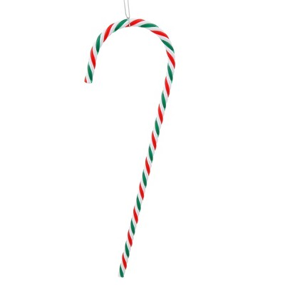 """Vickerman 2ct Striped Candy Cane Christmas Ornament Set 18"""" - Red/Green"""