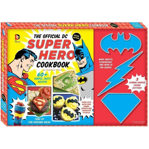 The Official DC Super Hero Cookbook - (DC Super Heroes) by  Matthew Mead (Paperback) - image 1 of 1