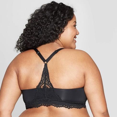 2fc8faca8d Women s Plus Size Racerback Bralette - Auden™   Target