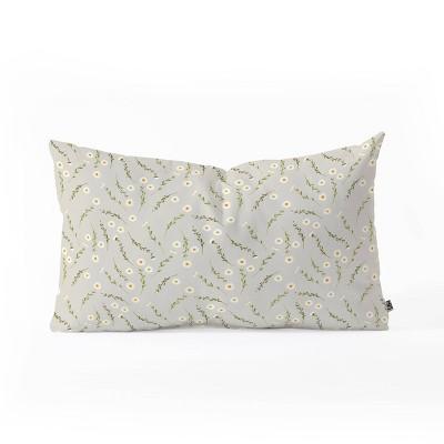 Iveta Abolina Daisy Meadow Oblong Throw Pillow -Deny Designs