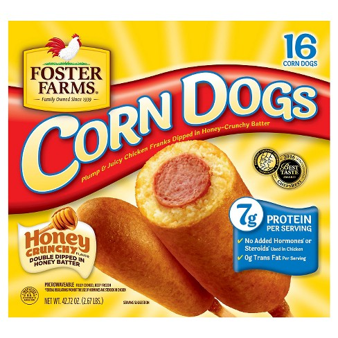 Foster Farms Chicken Corn Dogs -16ct - image 1 of 1