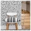 Speckled Dot Peel & Stick Wallpaper Black - Opalhouse™ - image 4 of 4