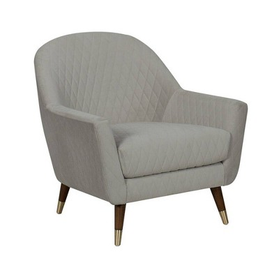 eLuxury Curve Back Accent Chair