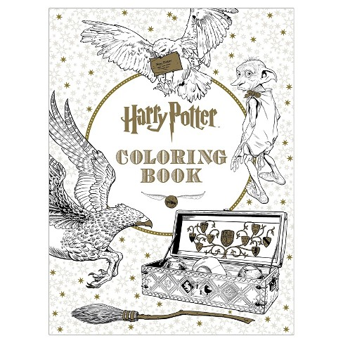 Harry Potter The Coloring Book 1 By Scholastic Inc Target