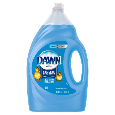 Dawn Ultra Original Scent Dishwashing Liquid Dish Soap - Original Scent - 56 fl oz