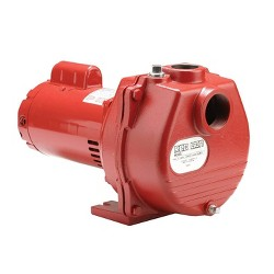 Red Lion 1.5 Horsepower 71 GPM Cast Iron Irrigation Sprinkler Pump | RLSP150