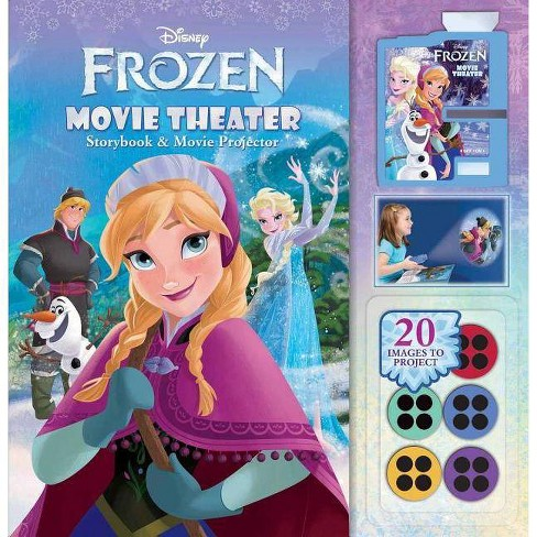 Disney Frozen: Movie Theater Storybook & Movie Projector - (Mixed media product) - image 1 of 1